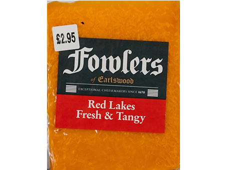 Fowlers Red Lakes 140g