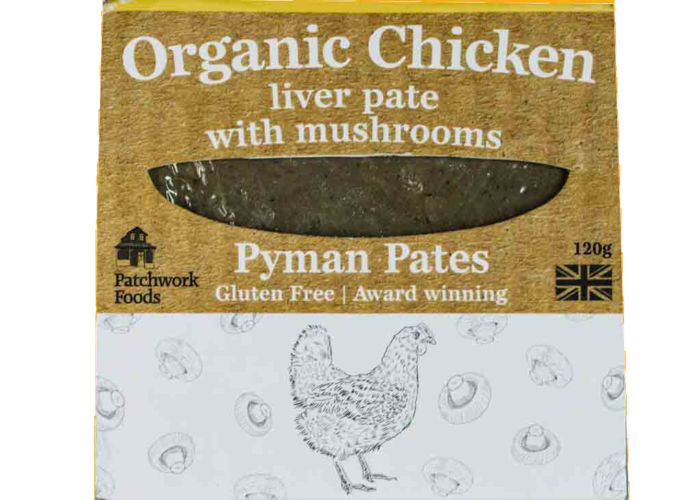 Organic Chicken Liver Pate with Mushrooms